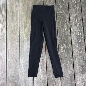 VS Pink Classic Black  High Waist Leggings
